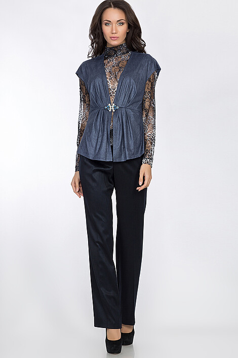 Комплект (блузон+жилет+брюки) за 2940 руб.