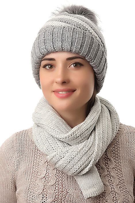 Комплект (шапка+шарф) за 1008 руб.