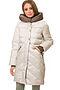 Утепленное пальто #67180. Вид 1.