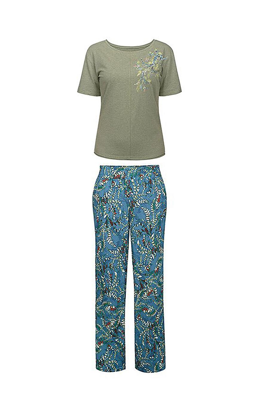 Пижама (Брюки+Футболка) #111439