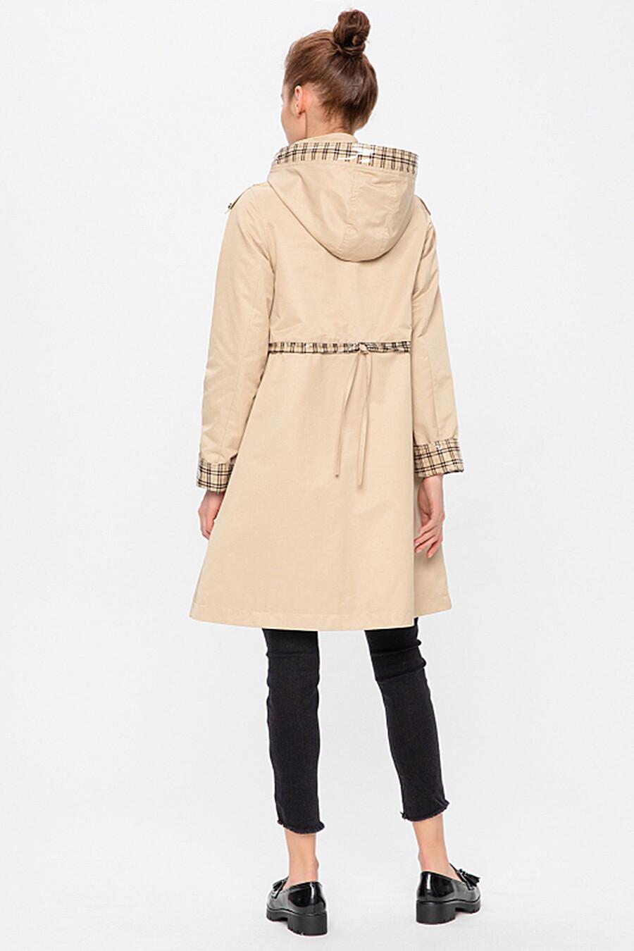 Плащ для женщин HOOPS 113213 купить оптом от производителя. Совместная покупка женской одежды в OptMoyo