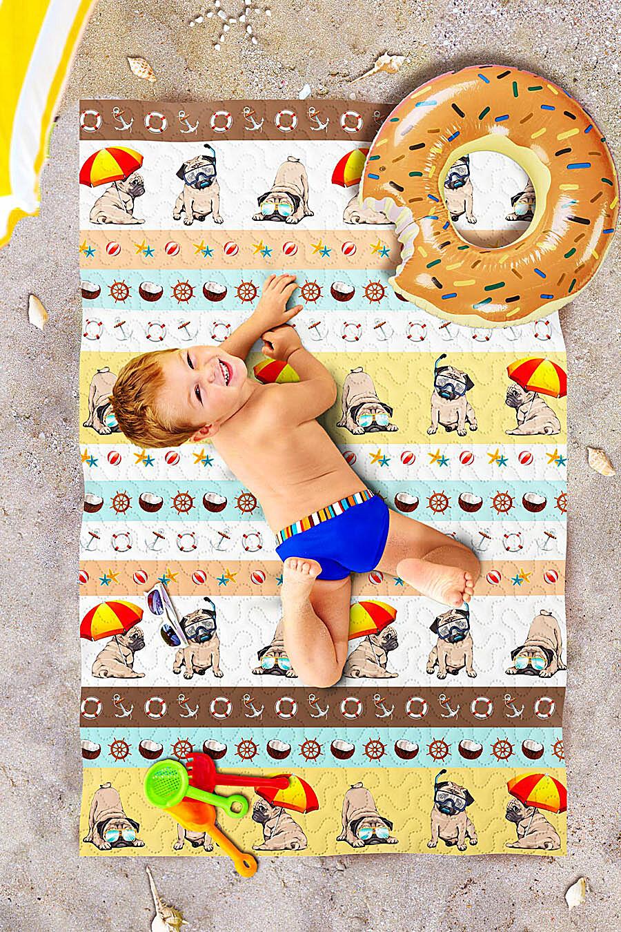 Пляжное покрывало для дома ART HOME TEXTILE 118017 купить оптом от производителя. Совместная покупка товаров для дома в OptMoyo
