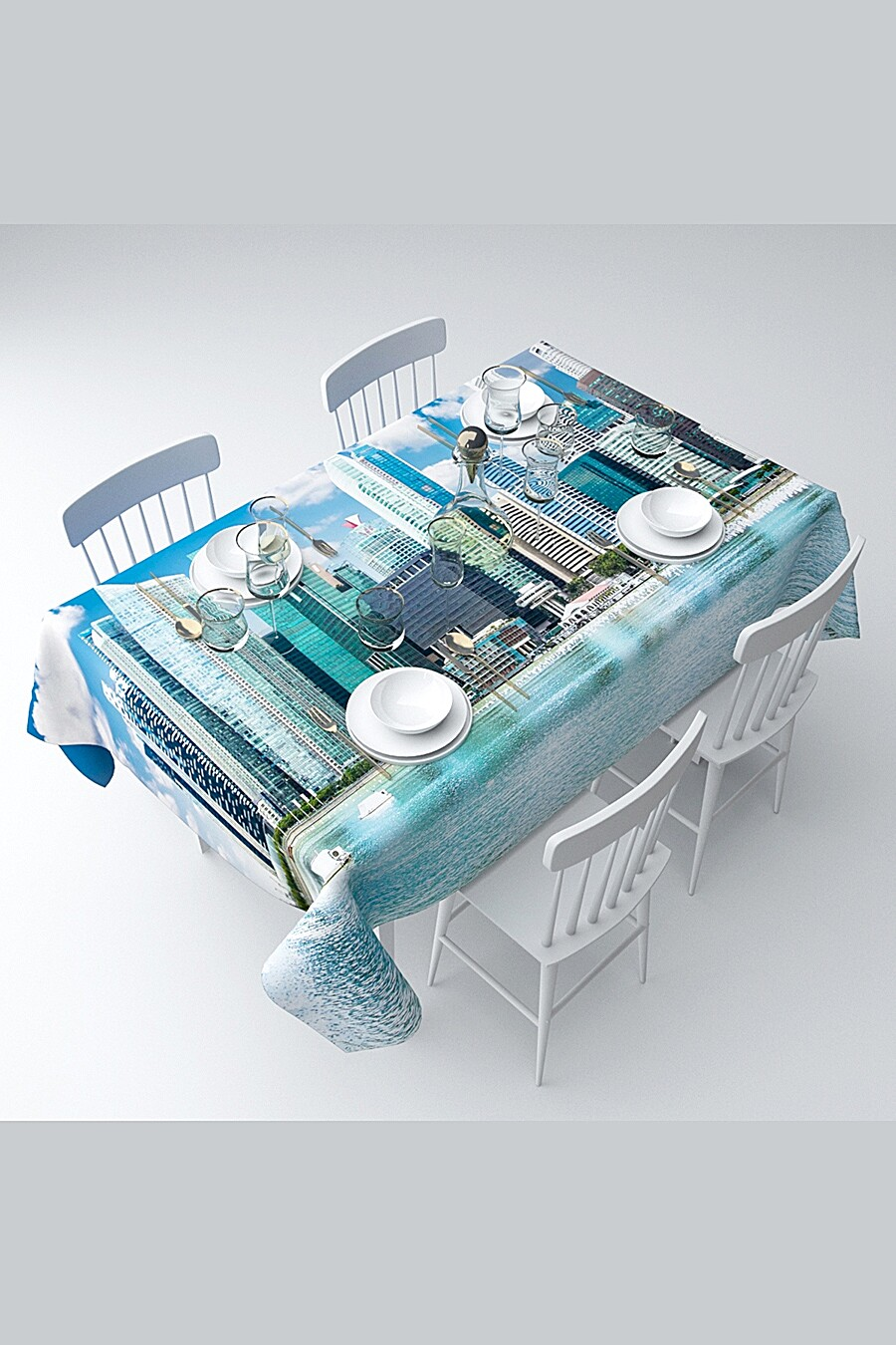 Скатерть с пропиткой для дома ART HOME TEXTILE 120693 купить оптом от производителя. Совместная покупка товаров для дома в OptMoyo