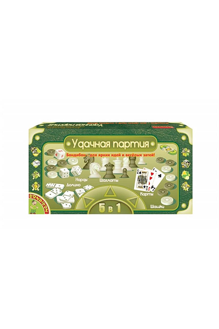 Удачная партия 5 в 1 BONDIBON (126087), купить в Optmoyo.ru