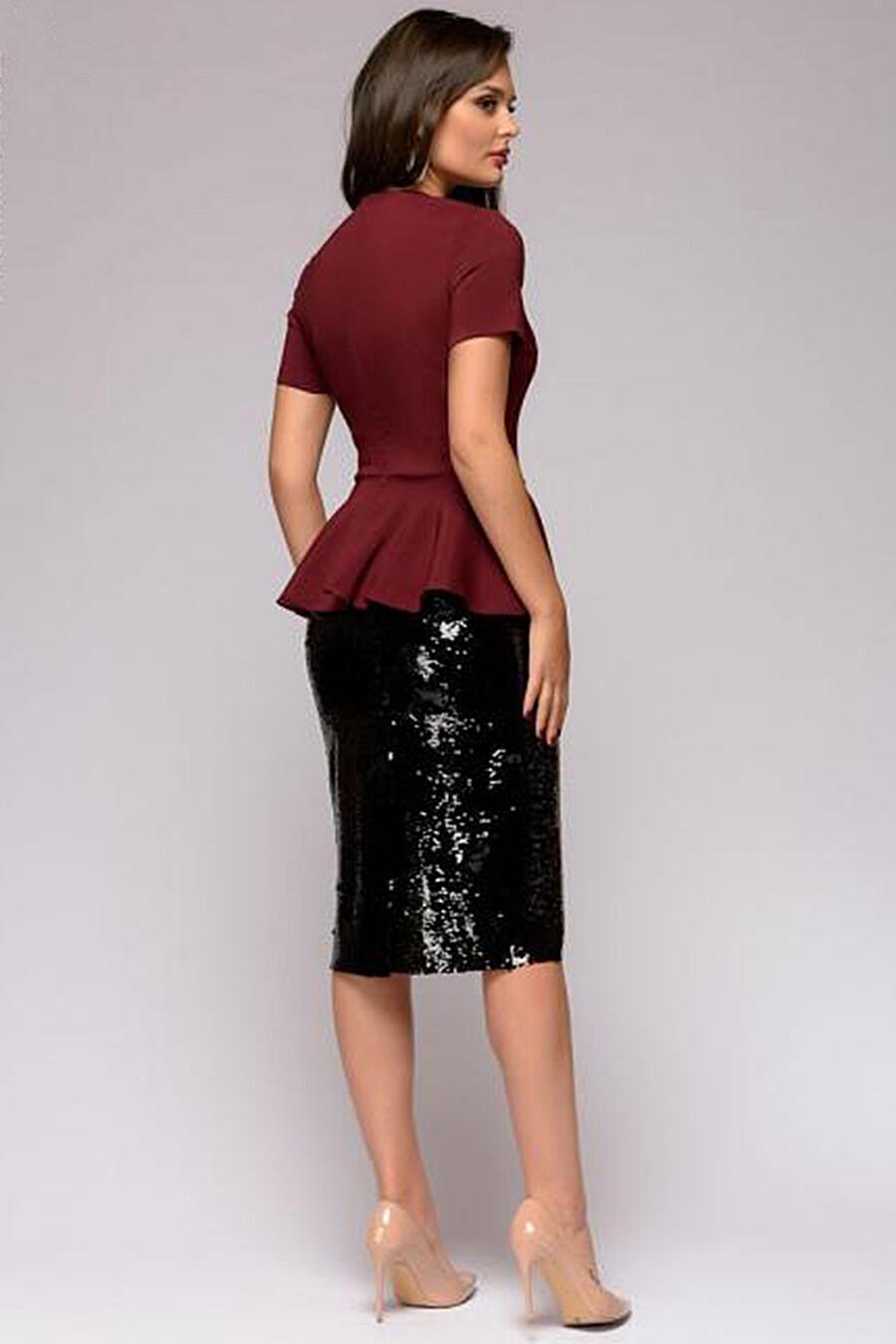 Юбка для женщин 1001 DRESS 130544 купить оптом от производителя. Совместная покупка женской одежды в OptMoyo