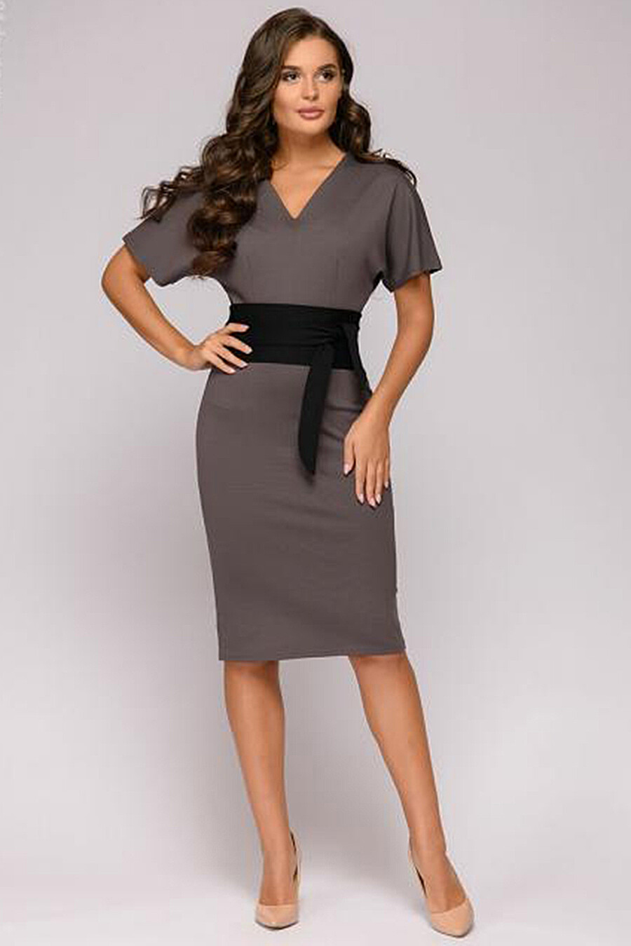 Платье для женщин 1001 DRESS 130946 купить оптом от производителя. Совместная покупка женской одежды в OptMoyo
