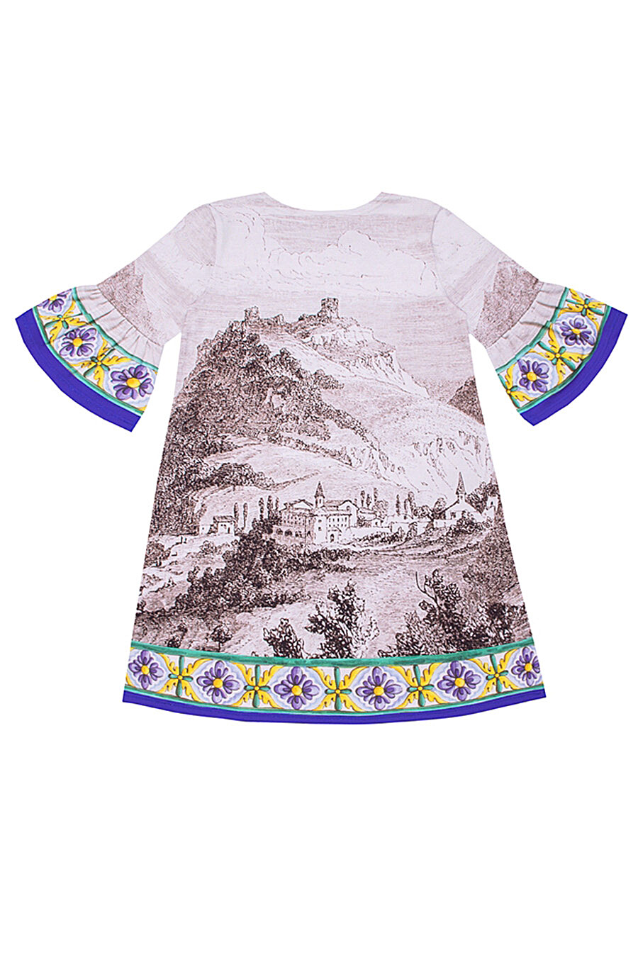 Платье для девочек Archi 131020 купить оптом от производителя. Совместная покупка детской одежды в OptMoyo