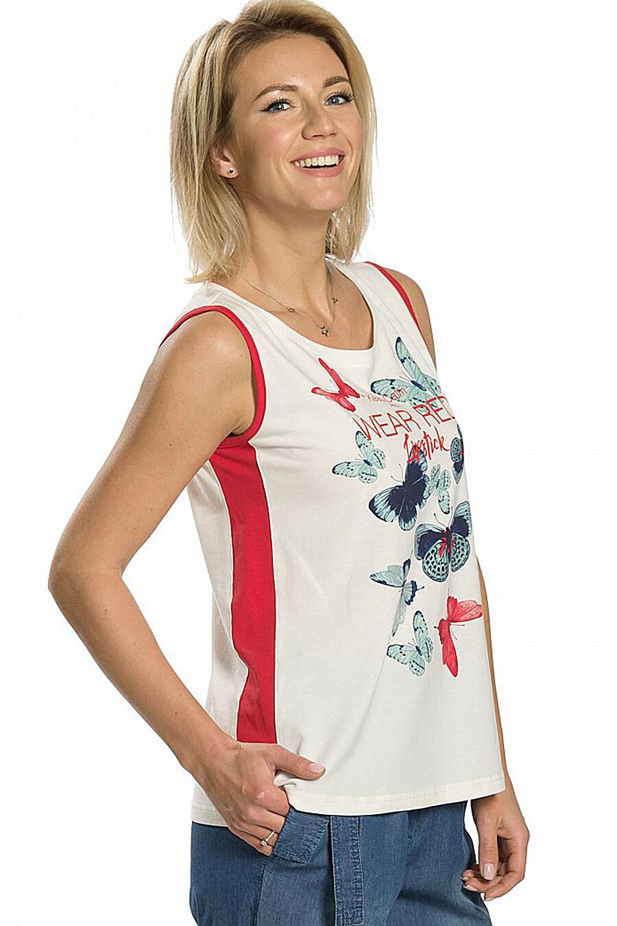 Майка для женщин PELICAN 131312 купить оптом от производителя. Совместная покупка женской одежды в OptMoyo