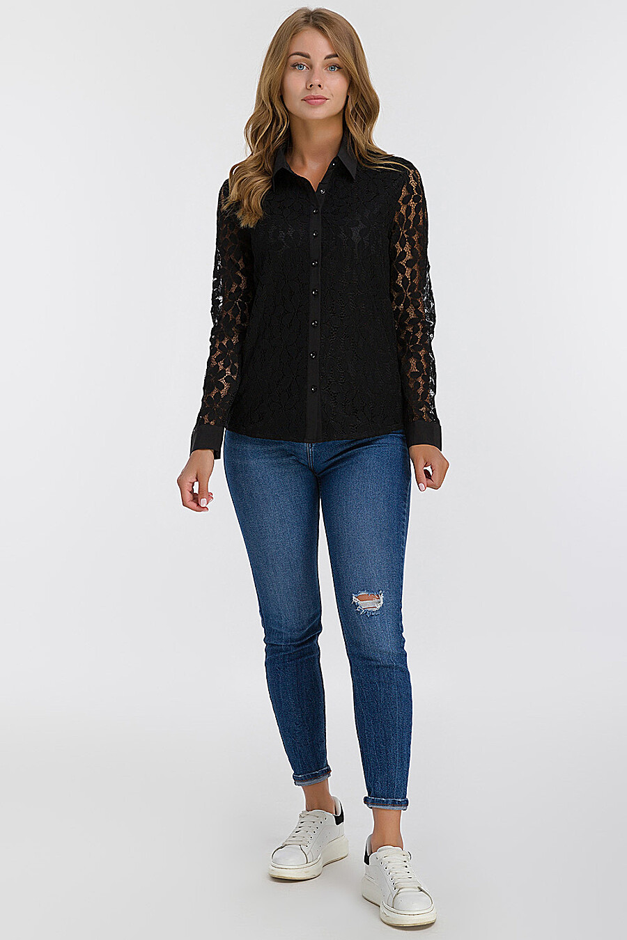 Блуза для женщин MODALIME 140824 купить оптом от производителя. Совместная покупка женской одежды в OptMoyo
