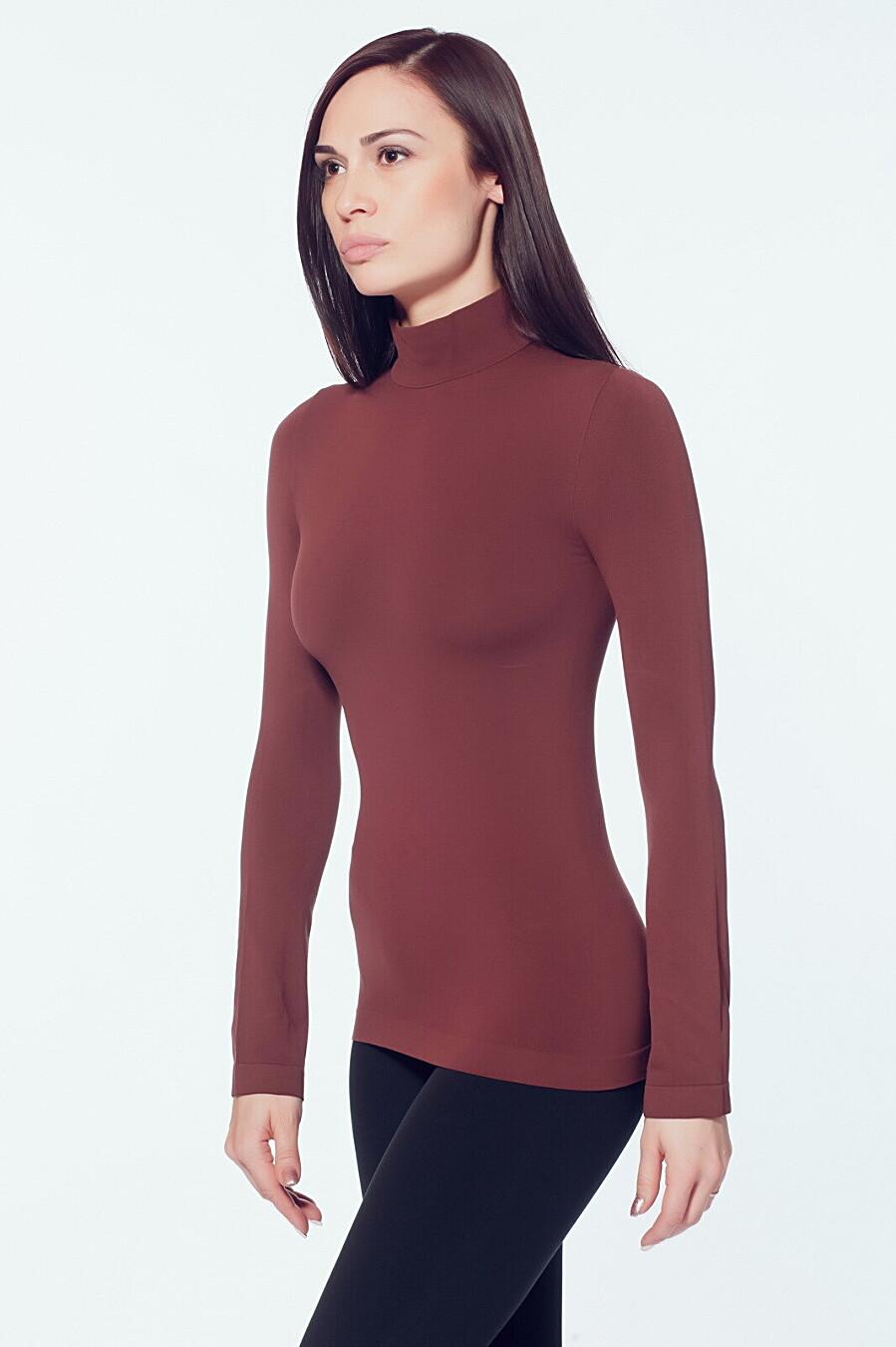Водолазка для женщин GIULIA 146609 купить оптом от производителя. Совместная покупка женской одежды в OptMoyo