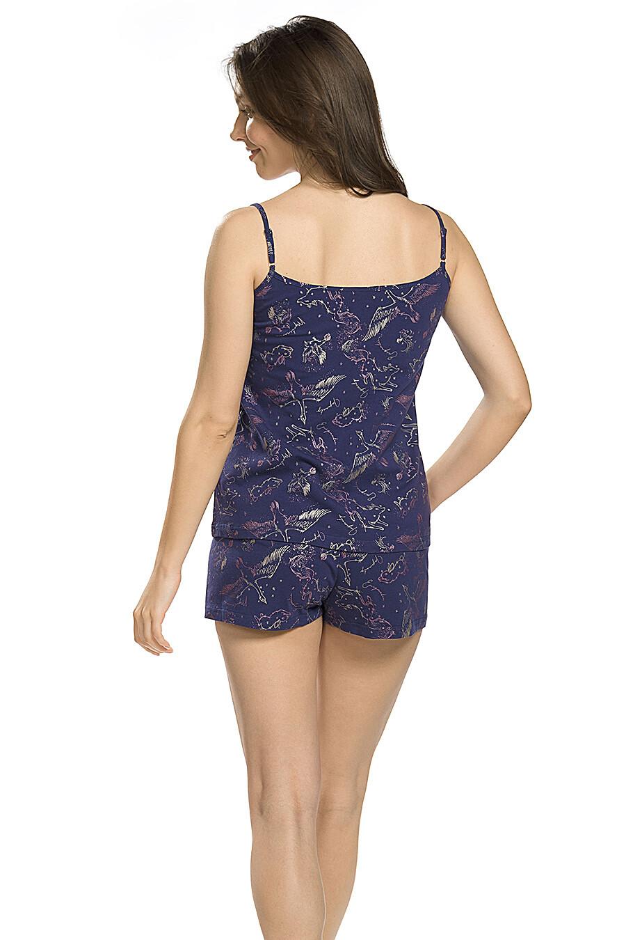 Комплект (Шорты+Майка) для женщин PELICAN 146685 купить оптом от производителя. Совместная покупка женской одежды в OptMoyo
