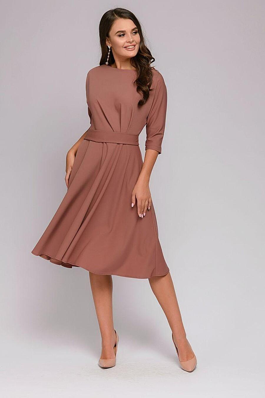 Платье для женщин 1001 DRESS 147652 купить оптом от производителя. Совместная покупка женской одежды в OptMoyo