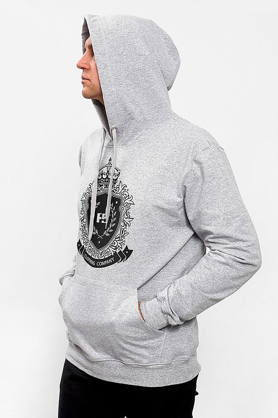 Толстовка для мужчин F5 148159 купить оптом от производителя. Совместная покупка мужской одежды в OptMoyo