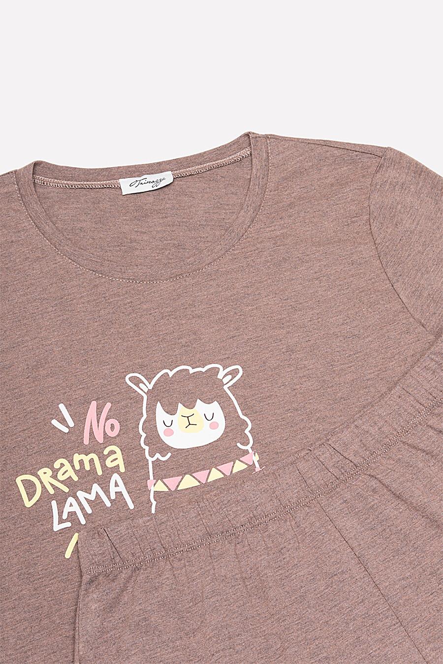 Комплект (Шорты+Футболка) для женщин TRIKOZZA 149182 купить оптом от производителя. Совместная покупка женской одежды в OptMoyo