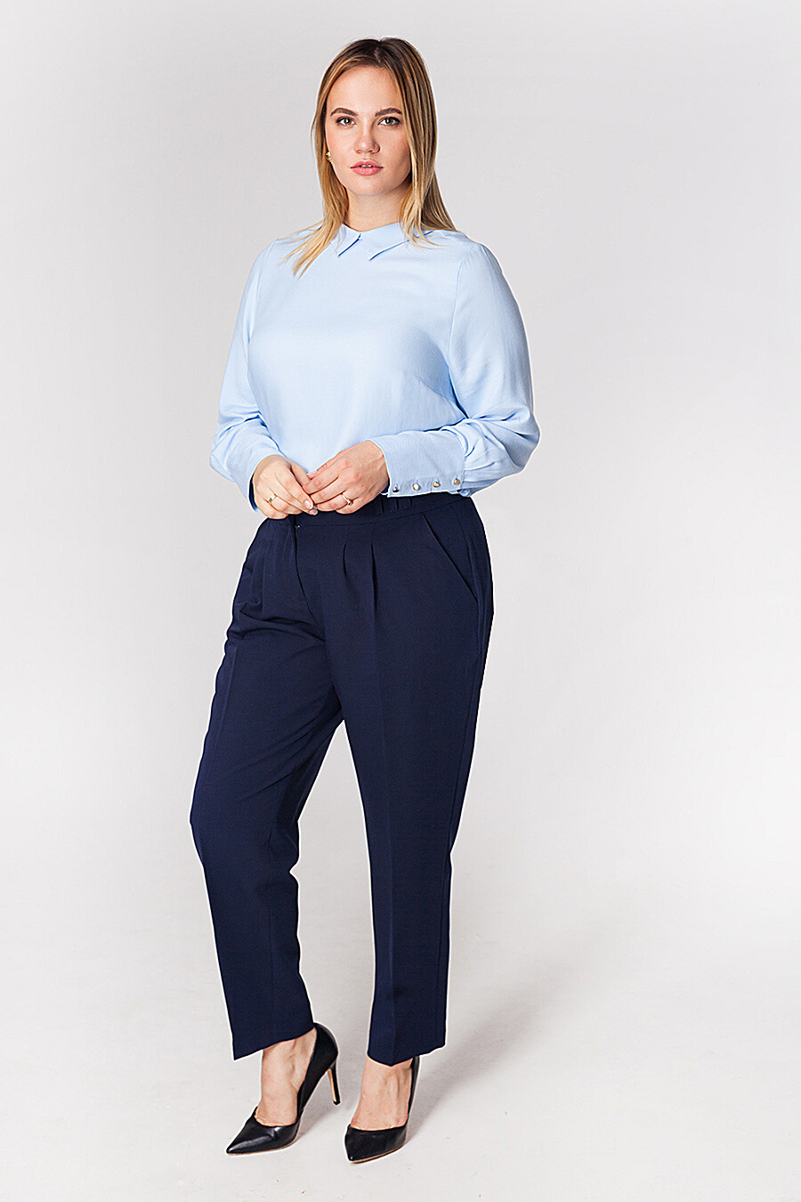 Брюки для женщин VILATTE 155126 купить оптом от производителя. Совместная покупка женской одежды в OptMoyo