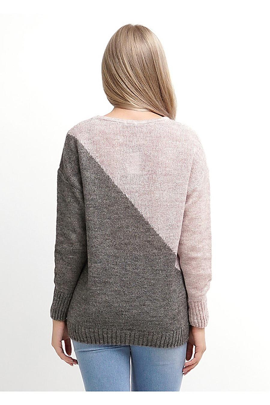 Джемпер для женщин CLEVER 155168 купить оптом от производителя. Совместная покупка женской одежды в OptMoyo