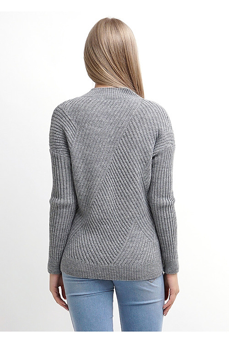 Джемпер для женщин CLEVER 155169 купить оптом от производителя. Совместная покупка женской одежды в OptMoyo