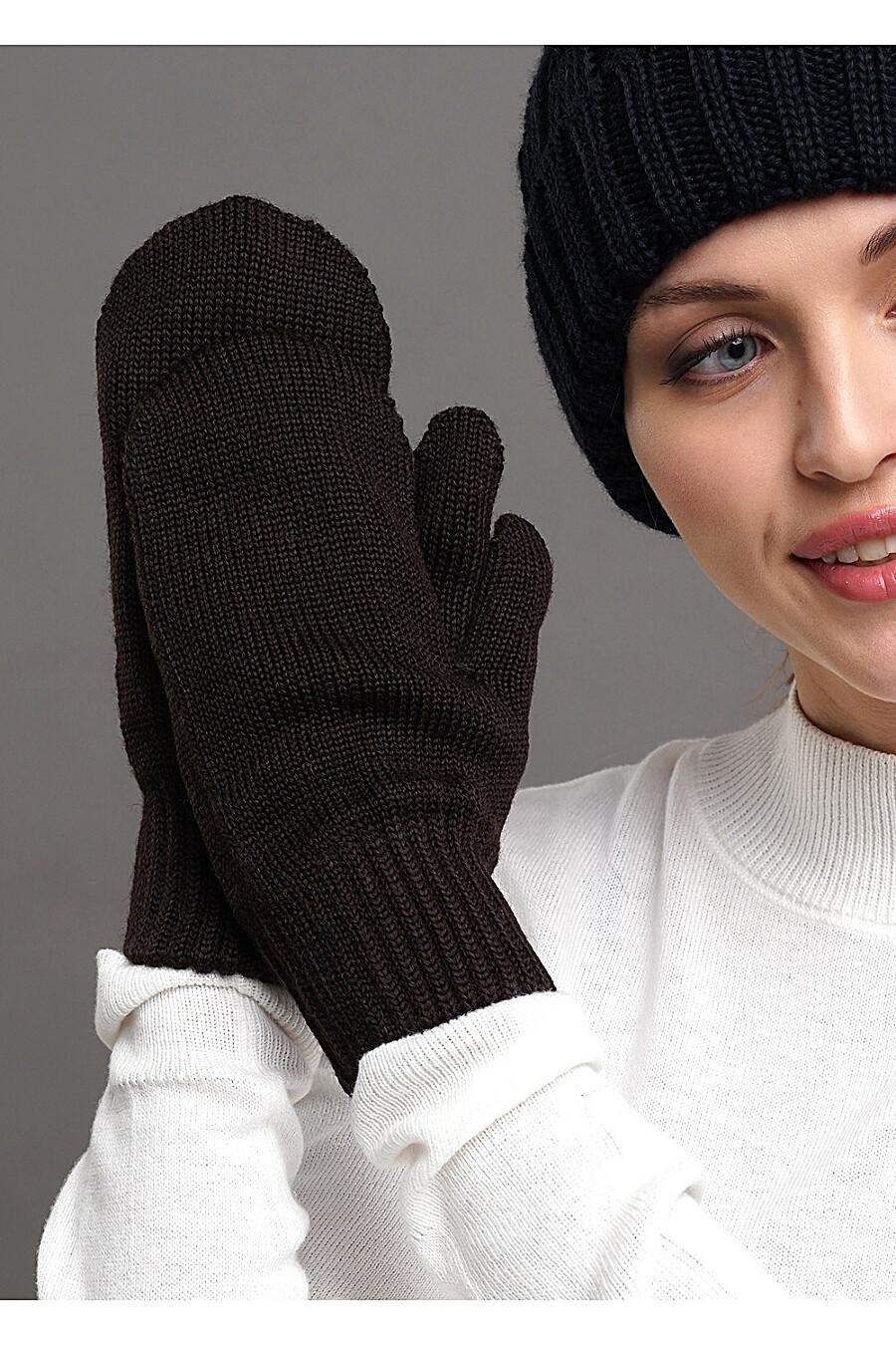 Варежки для женщин CLEVER 155178 купить оптом от производителя. Совместная покупка женской одежды в OptMoyo