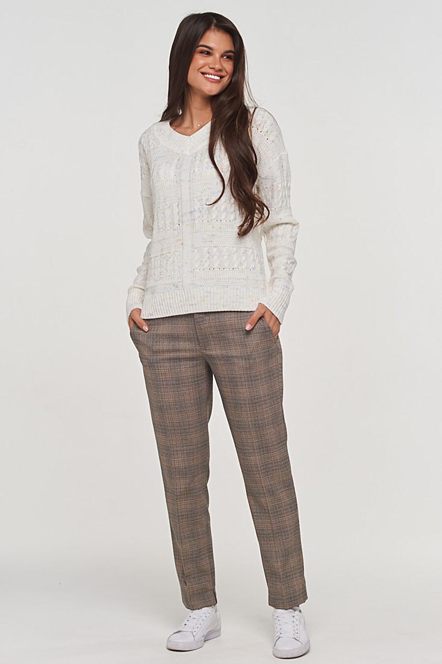 Джемпер для женщин VAY 155244 купить оптом от производителя. Совместная покупка женской одежды в OptMoyo