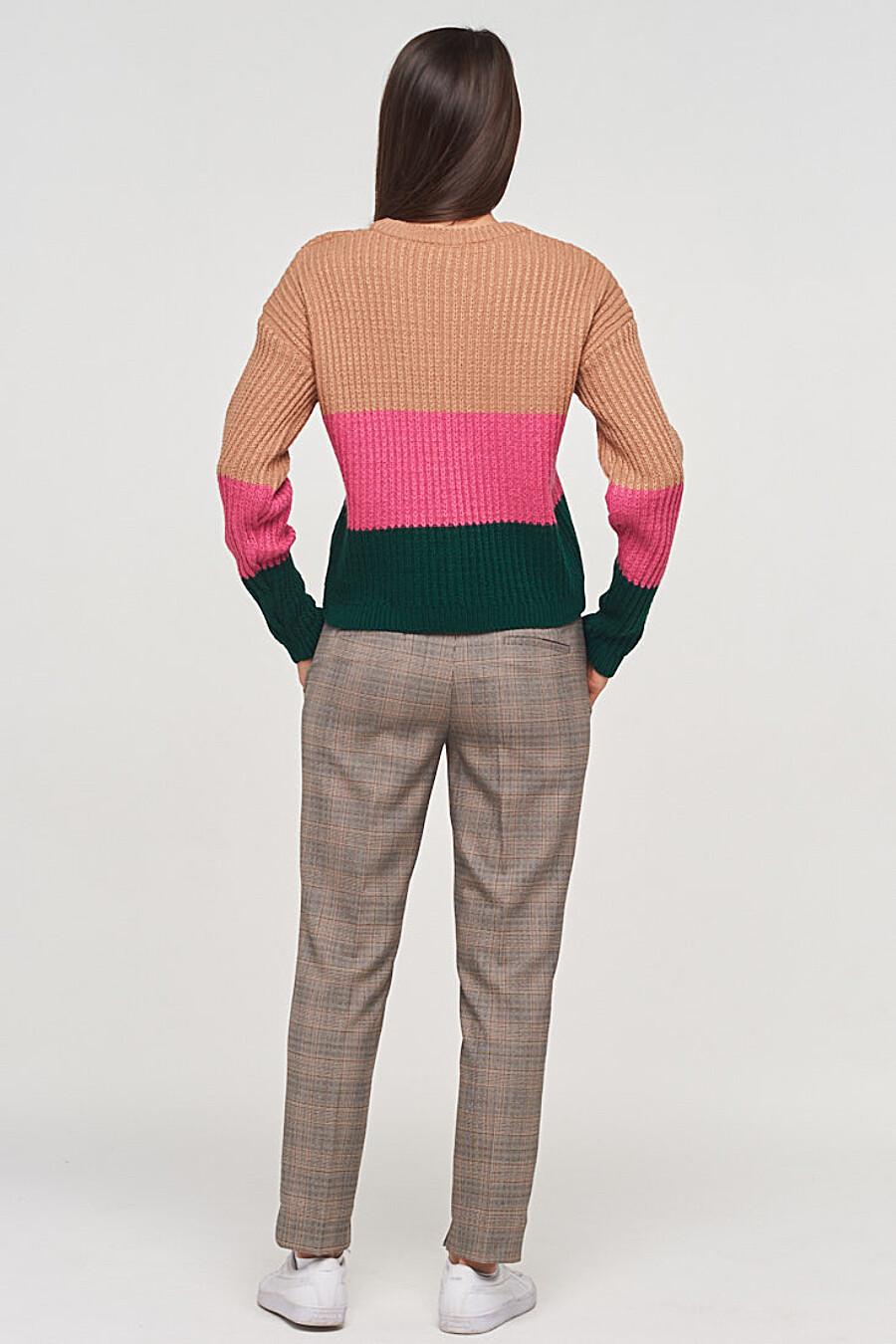 Джемпер для женщин VAY 155257 купить оптом от производителя. Совместная покупка женской одежды в OptMoyo