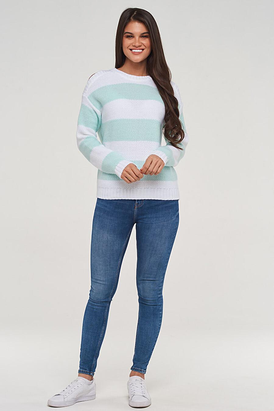 Джемпер для женщин VAY 155259 купить оптом от производителя. Совместная покупка женской одежды в OptMoyo