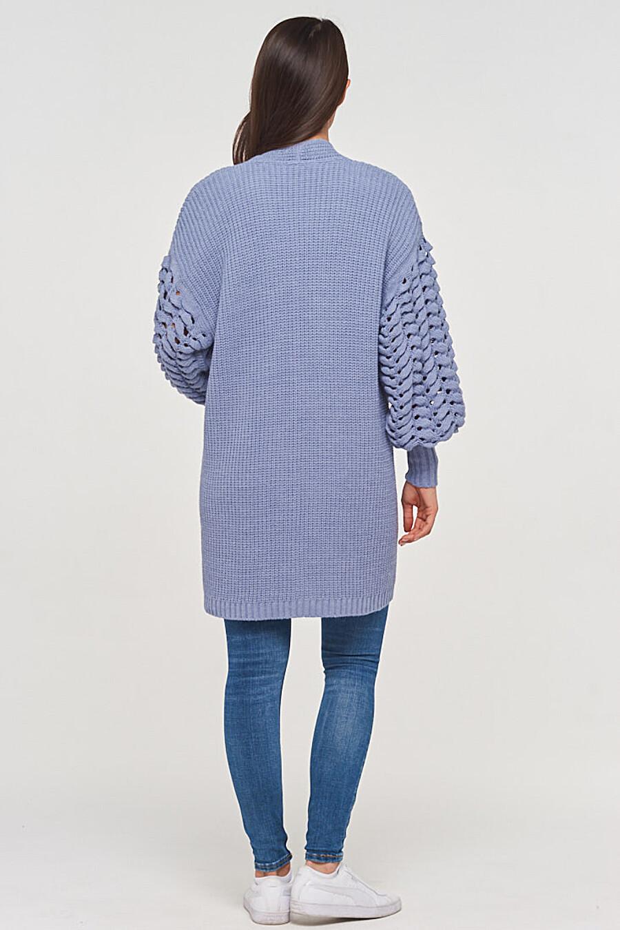 Кардиган для женщин VAY 155282 купить оптом от производителя. Совместная покупка женской одежды в OptMoyo