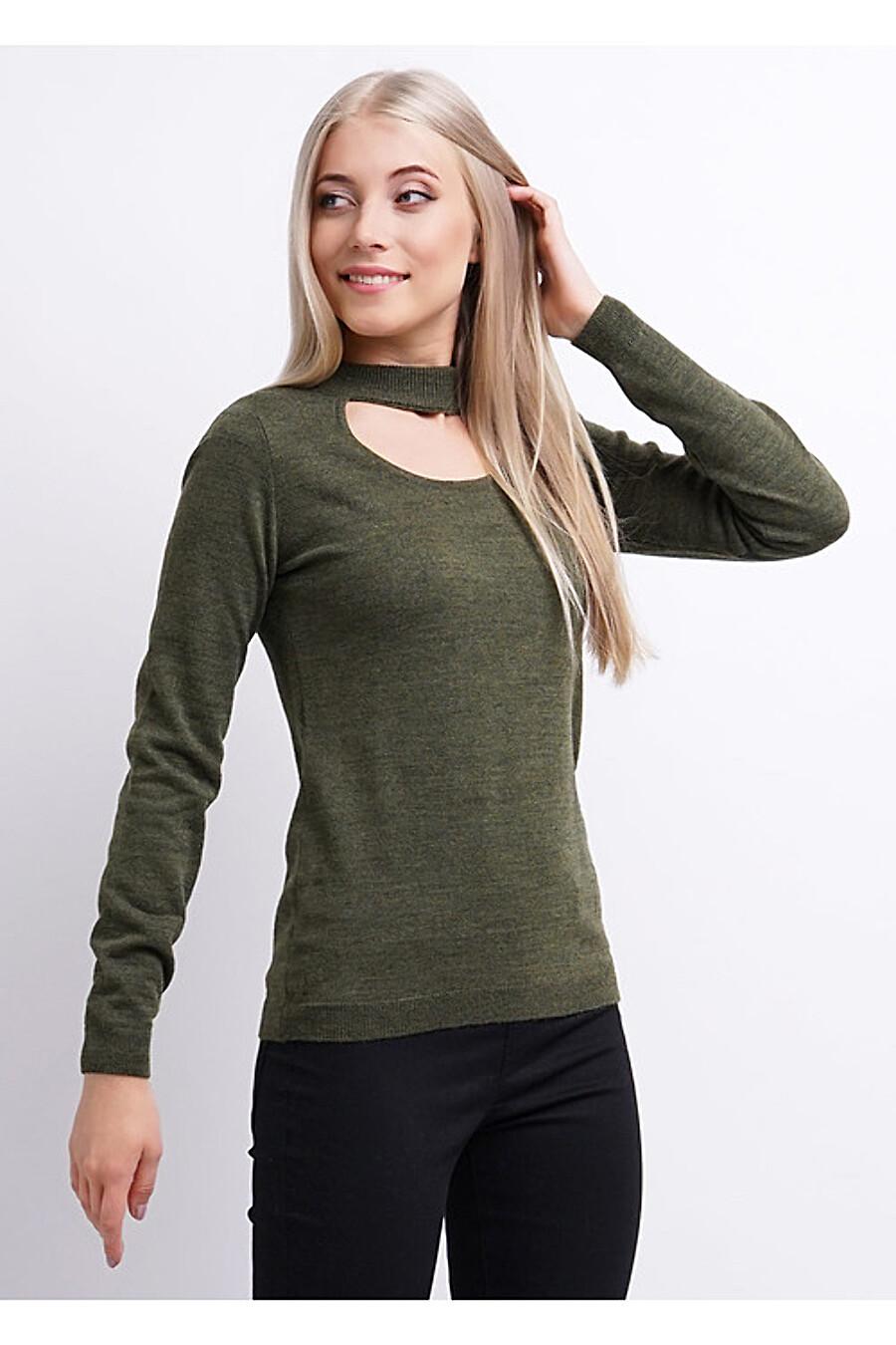 Джемпер для женщин CLEVER 155349 купить оптом от производителя. Совместная покупка женской одежды в OptMoyo