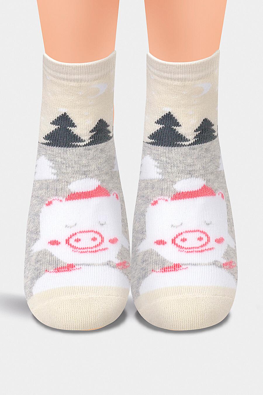 Носки для девочек CLEVER 157049 купить оптом от производителя. Совместная покупка детской одежды в OptMoyo