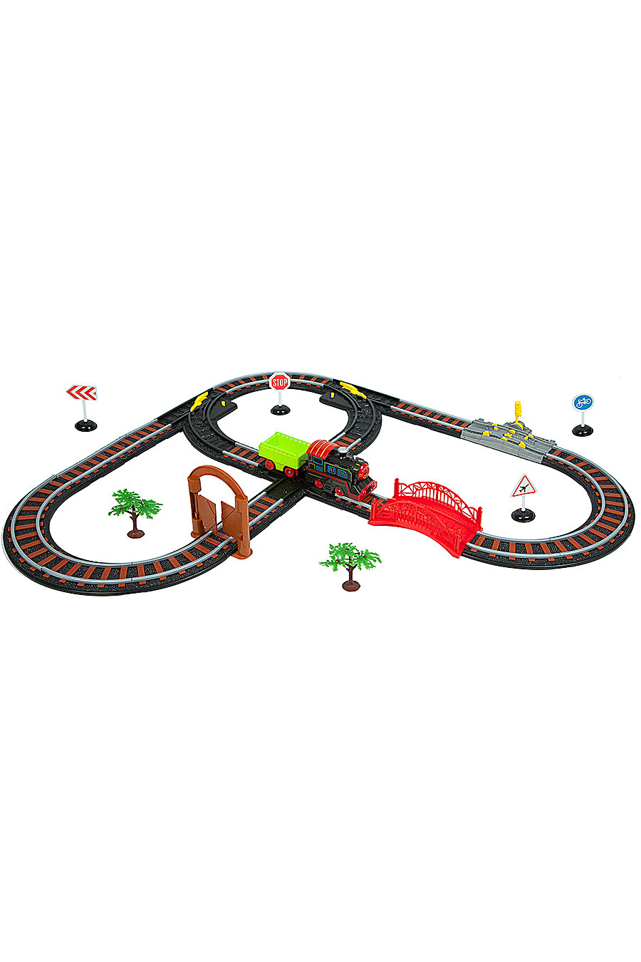 Железная дорога для детей BONDIBON 157325 купить оптом от производителя. Совместная покупка игрушек в OptMoyo