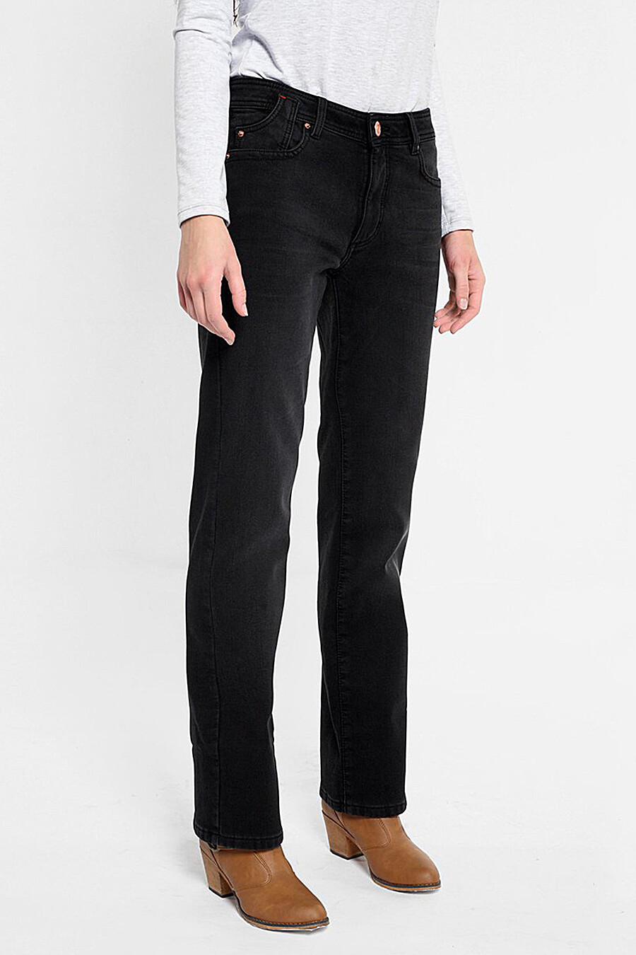 Джинсы утепленные для женщин F5 158855 купить оптом от производителя. Совместная покупка женской одежды в OptMoyo