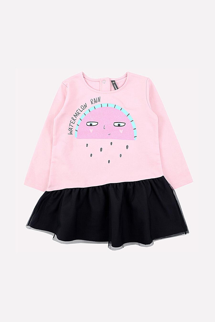 Платье для девочек CROCKID 161162 купить оптом от производителя. Совместная покупка детской одежды в OptMoyo