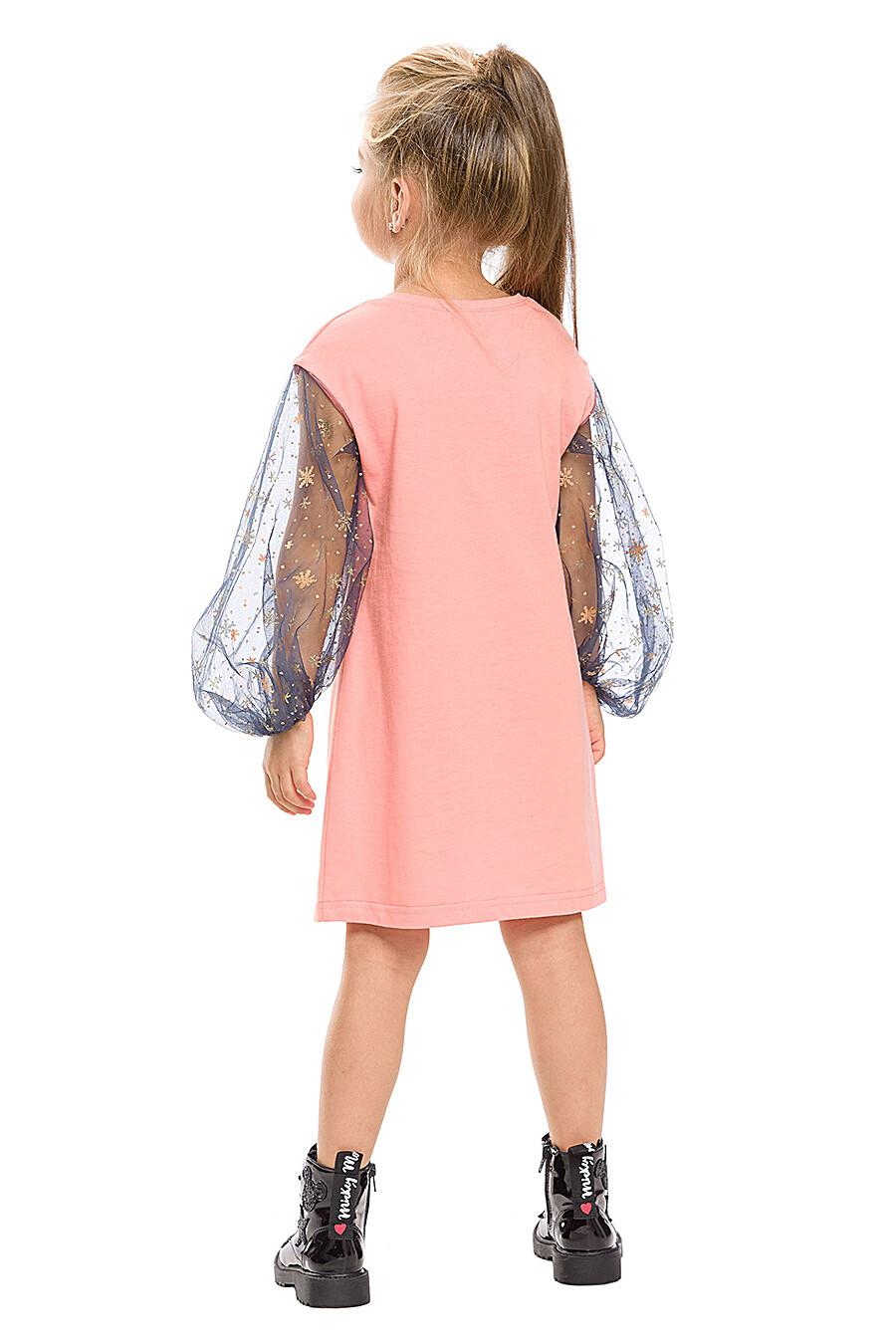 Платье для девочек PELICAN 161238 купить оптом от производителя. Совместная покупка детской одежды в OptMoyo