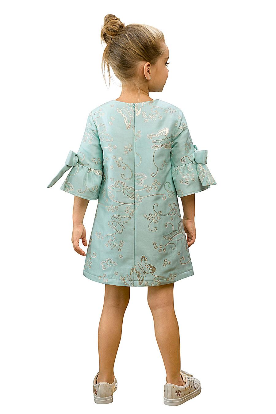 Платье для девочек PELICAN 161285 купить оптом от производителя. Совместная покупка детской одежды в OptMoyo