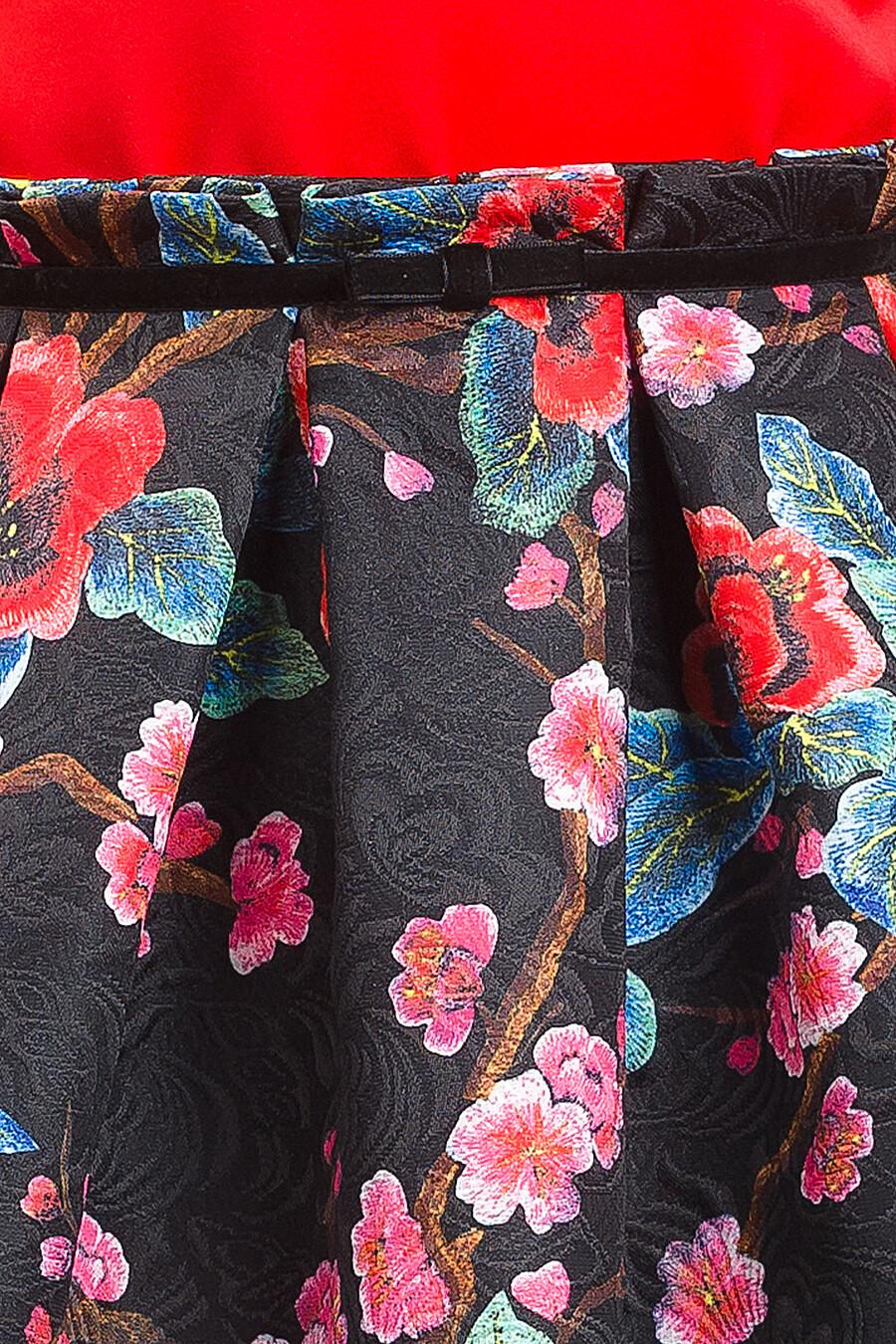 Платье для девочек PELICAN 161289 купить оптом от производителя. Совместная покупка детской одежды в OptMoyo