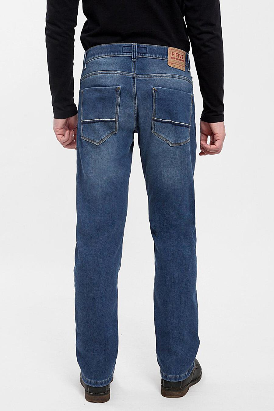 Джинсы утепленные для мужчин F5 161321 купить оптом от производителя. Совместная покупка мужской одежды в OptMoyo