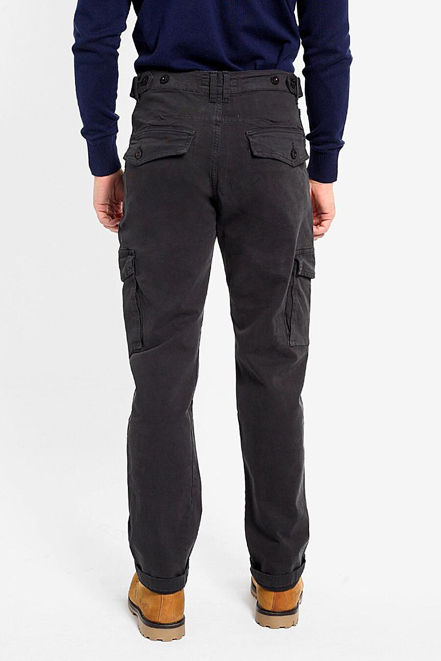 Брюки для мужчин F5 161322 купить оптом от производителя. Совместная покупка мужской одежды в OptMoyo