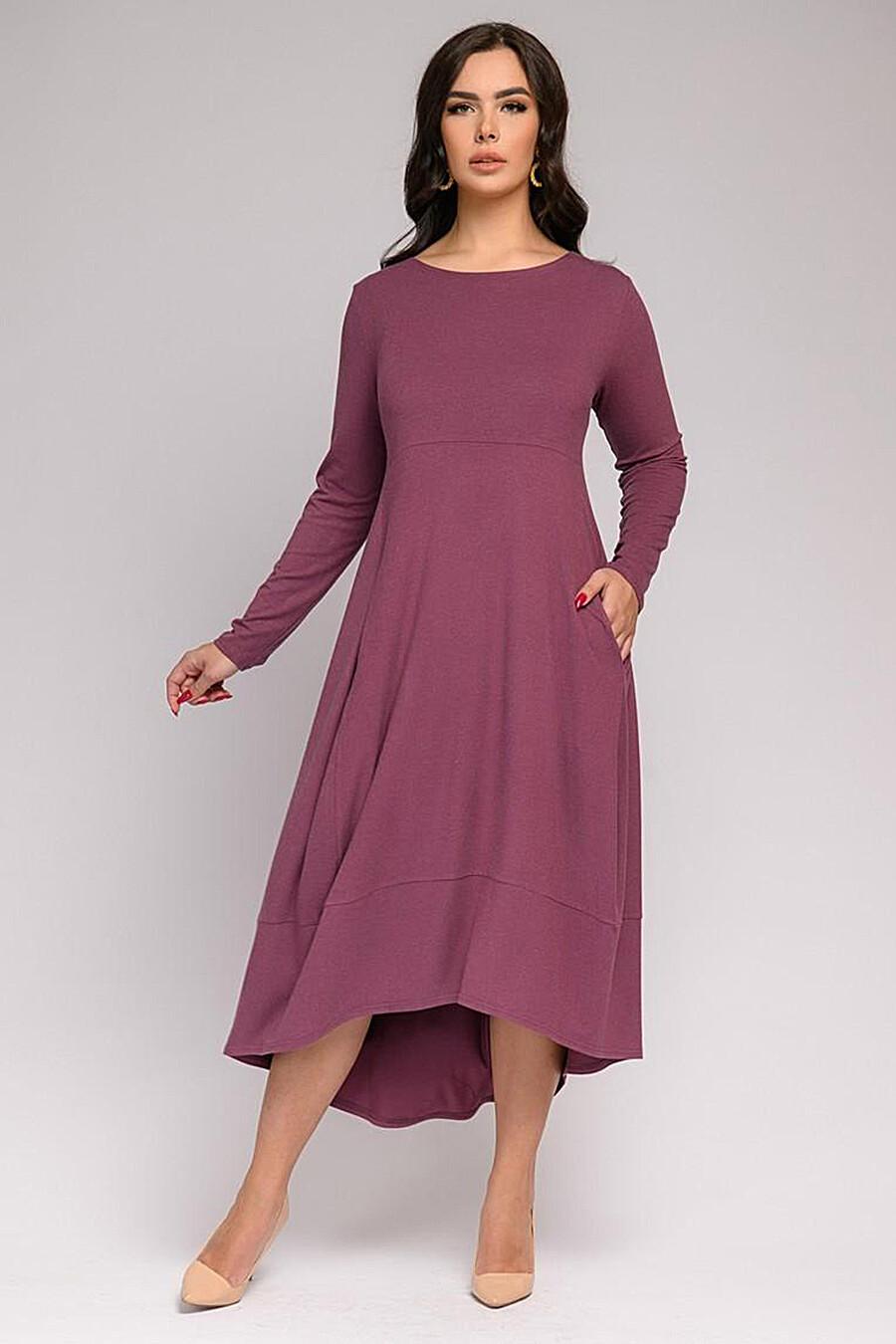 Платье для женщин 1001 DRESS 161387 купить оптом от производителя. Совместная покупка женской одежды в OptMoyo
