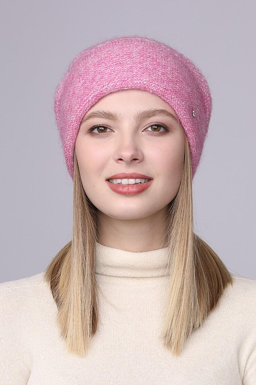 Шапка для женщин FORTI 165353 купить оптом от производителя. Совместная покупка женской одежды в OptMoyo