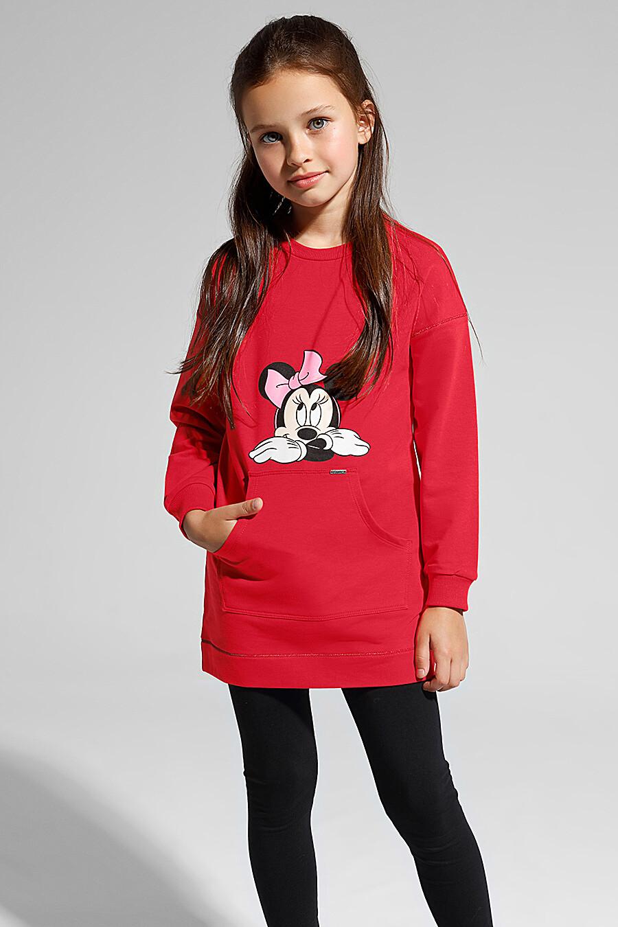 Туника для девочек CONTE KIDS 165583 купить оптом от производителя. Совместная покупка детской одежды в OptMoyo