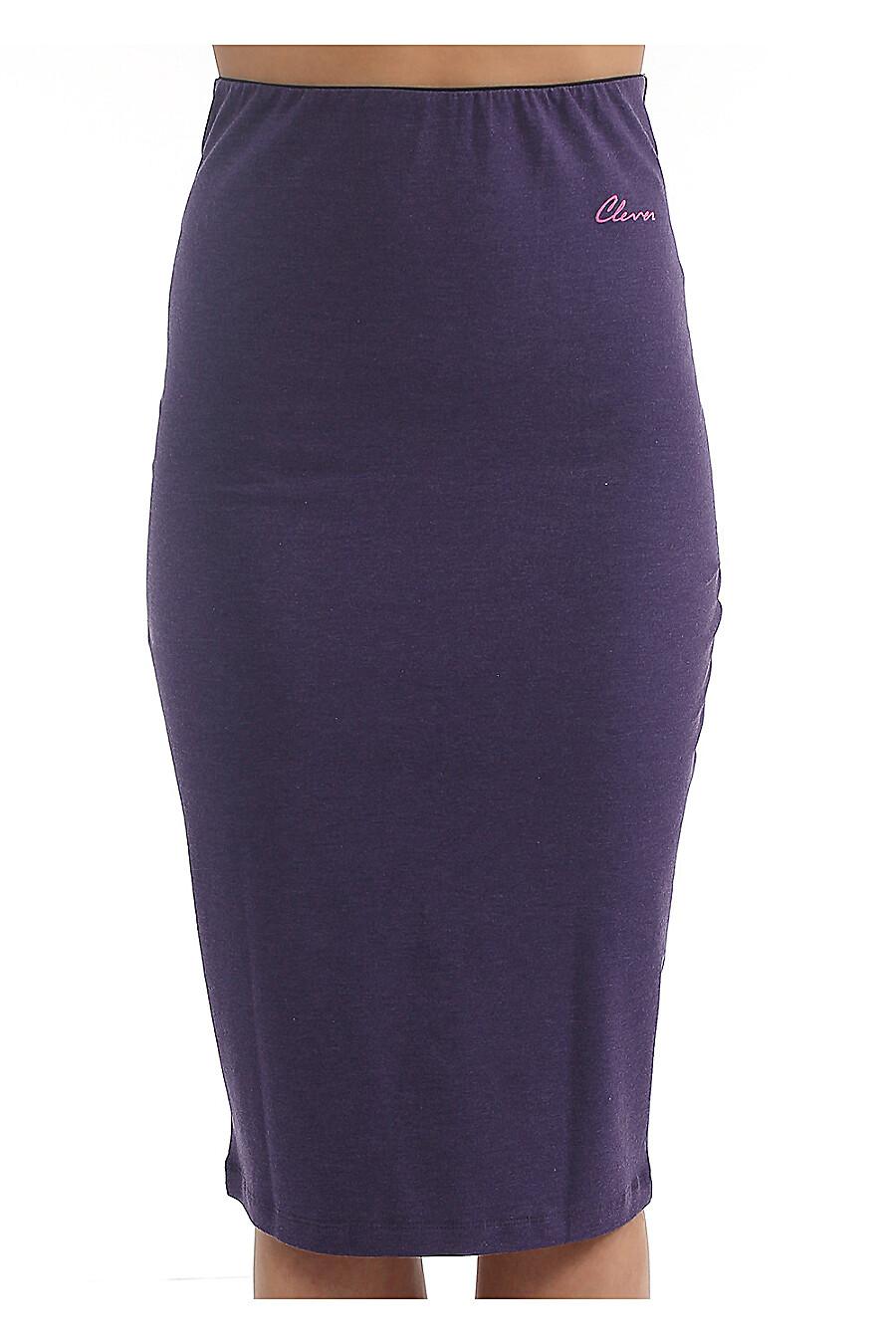 Юбка для женщин CLEVER 169231 купить оптом от производителя. Совместная покупка женской одежды в OptMoyo