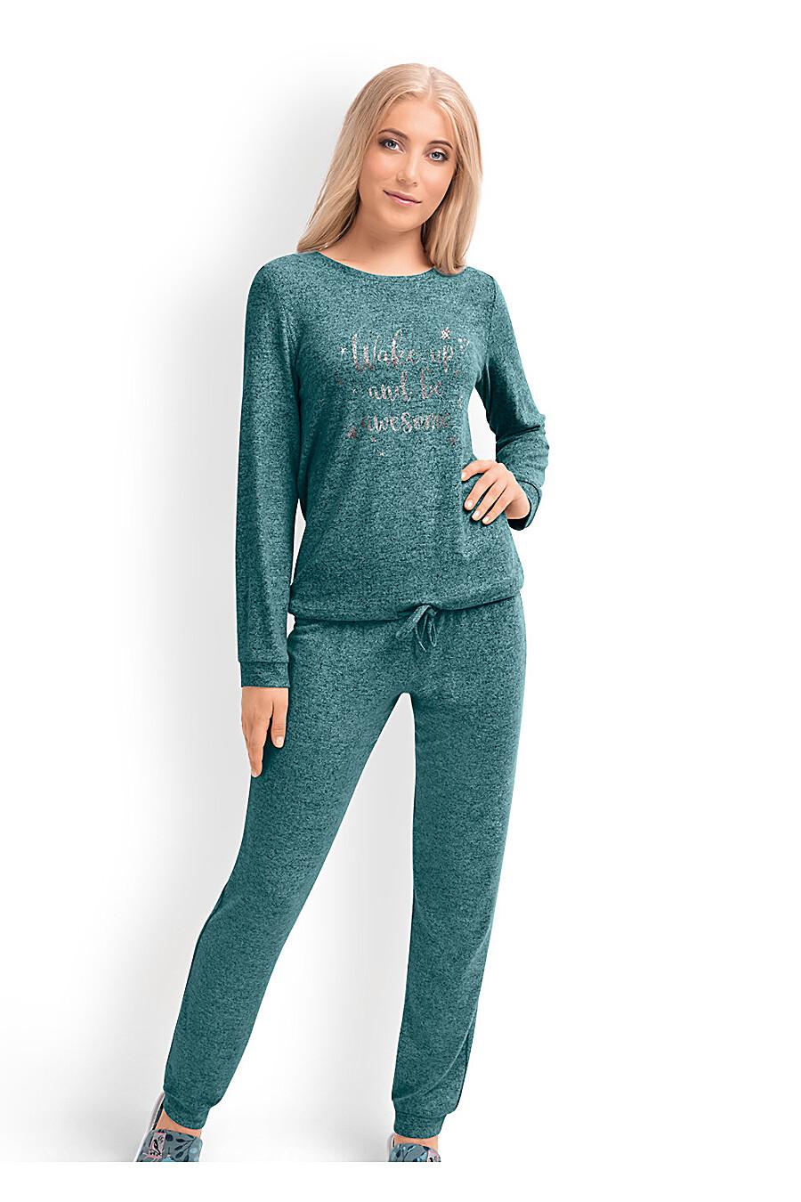 Комплект (джемпер+брюки) для женщин CLEVER 169234 купить оптом от производителя. Совместная покупка женской одежды в OptMoyo
