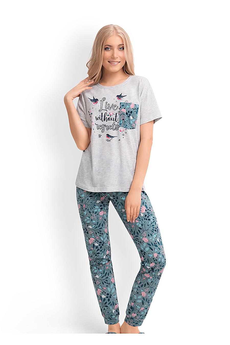 Комплект (футболка+брюки) CLEVER (169236), купить в Optmoyo.ru
