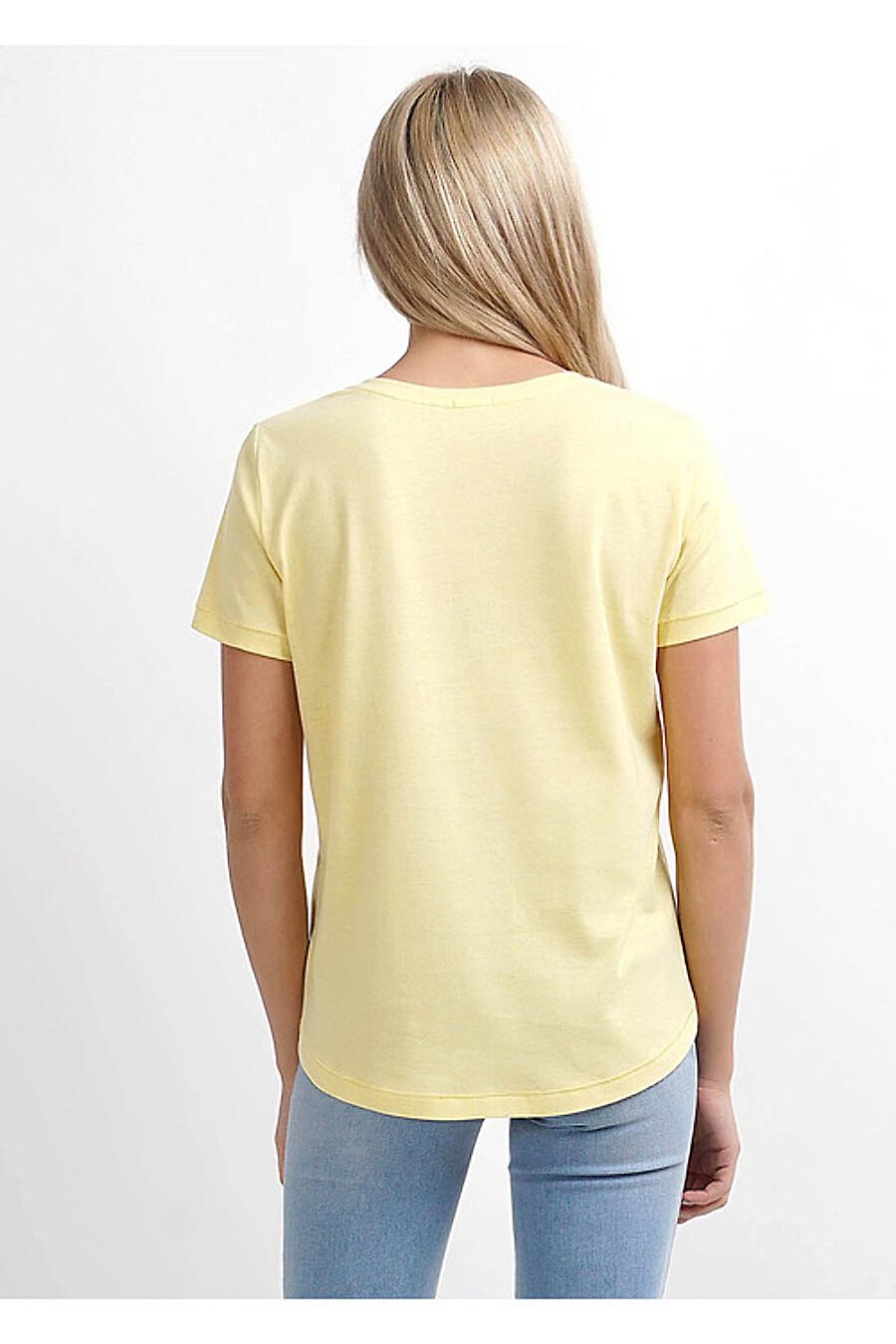Футболка для женщин CLEVER 169276 купить оптом от производителя. Совместная покупка женской одежды в OptMoyo