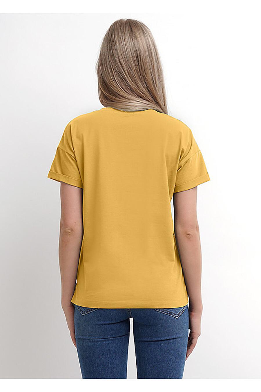 Футболка для женщин CLEVER 169285 купить оптом от производителя. Совместная покупка женской одежды в OptMoyo