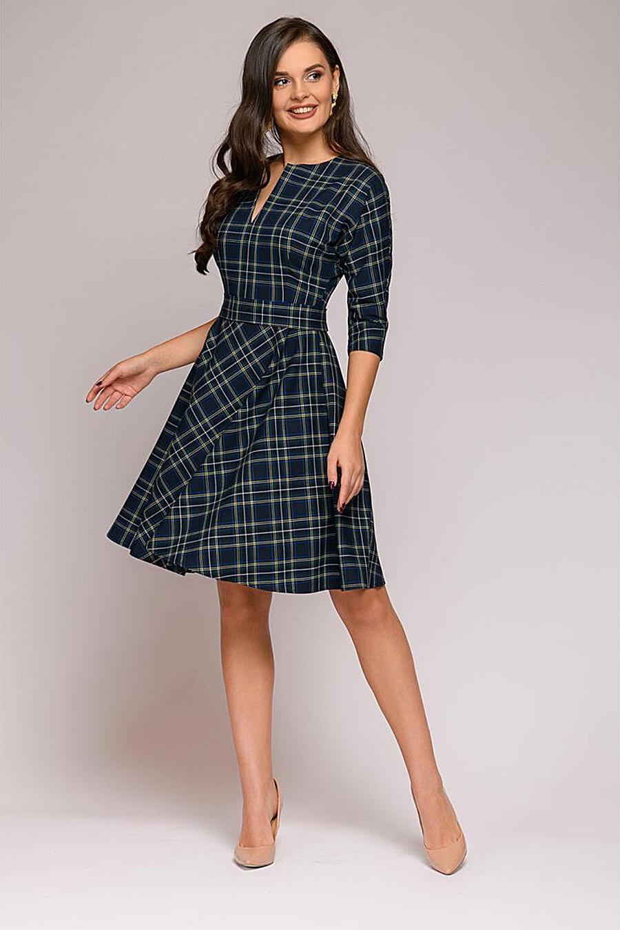 Платье для женщин 1001 DRESS 169546 купить оптом от производителя. Совместная покупка женской одежды в OptMoyo