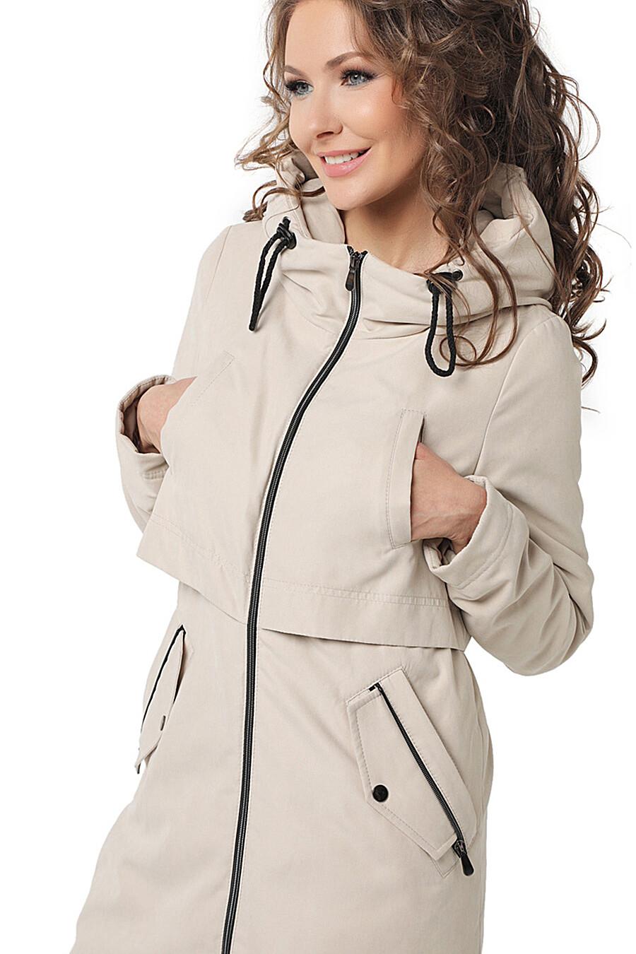 Плащ для женщин DIWAY 169600 купить оптом от производителя. Совместная покупка женской одежды в OptMoyo