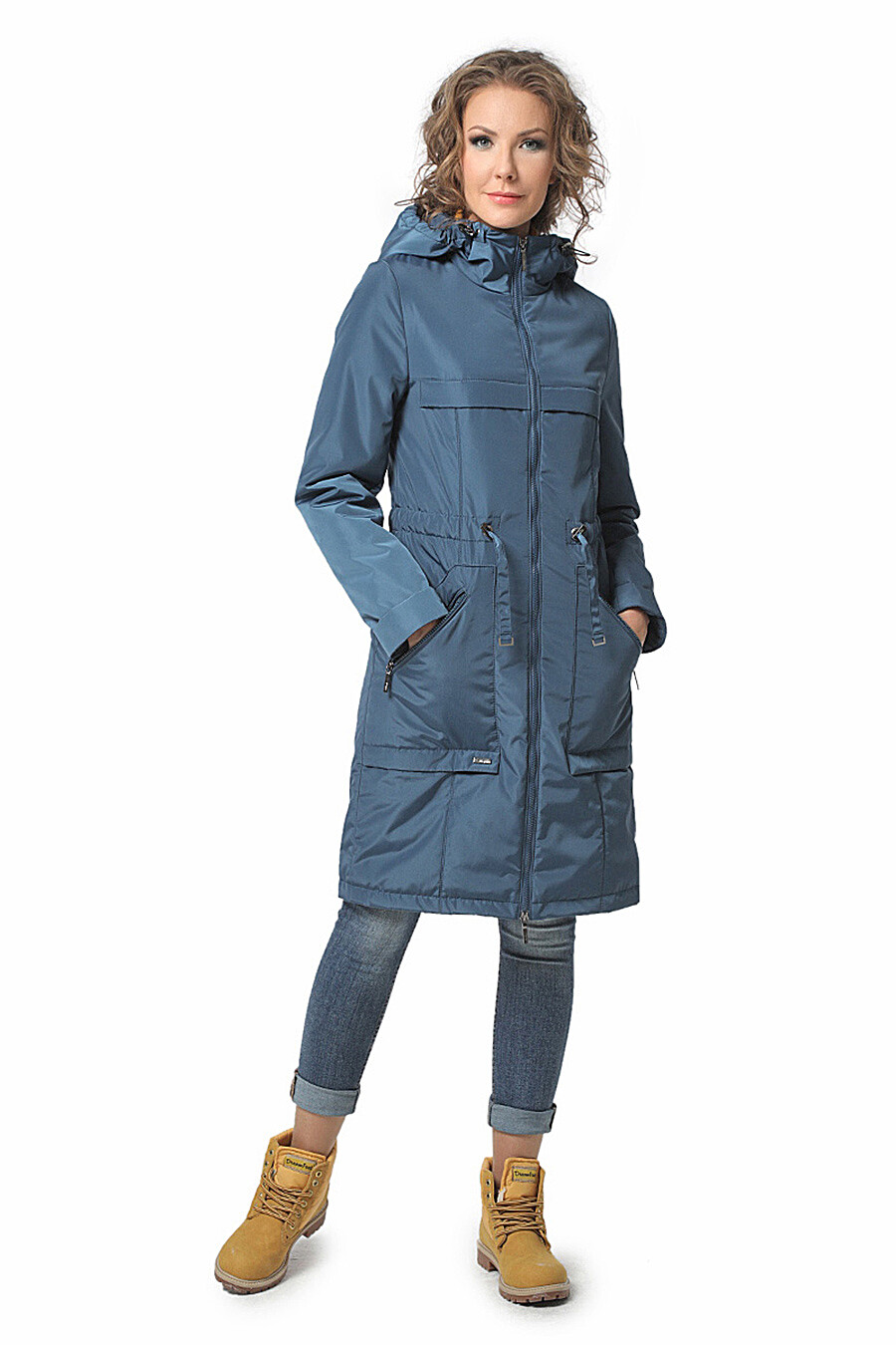 Плащ для женщин DIWAY 169610 купить оптом от производителя. Совместная покупка женской одежды в OptMoyo