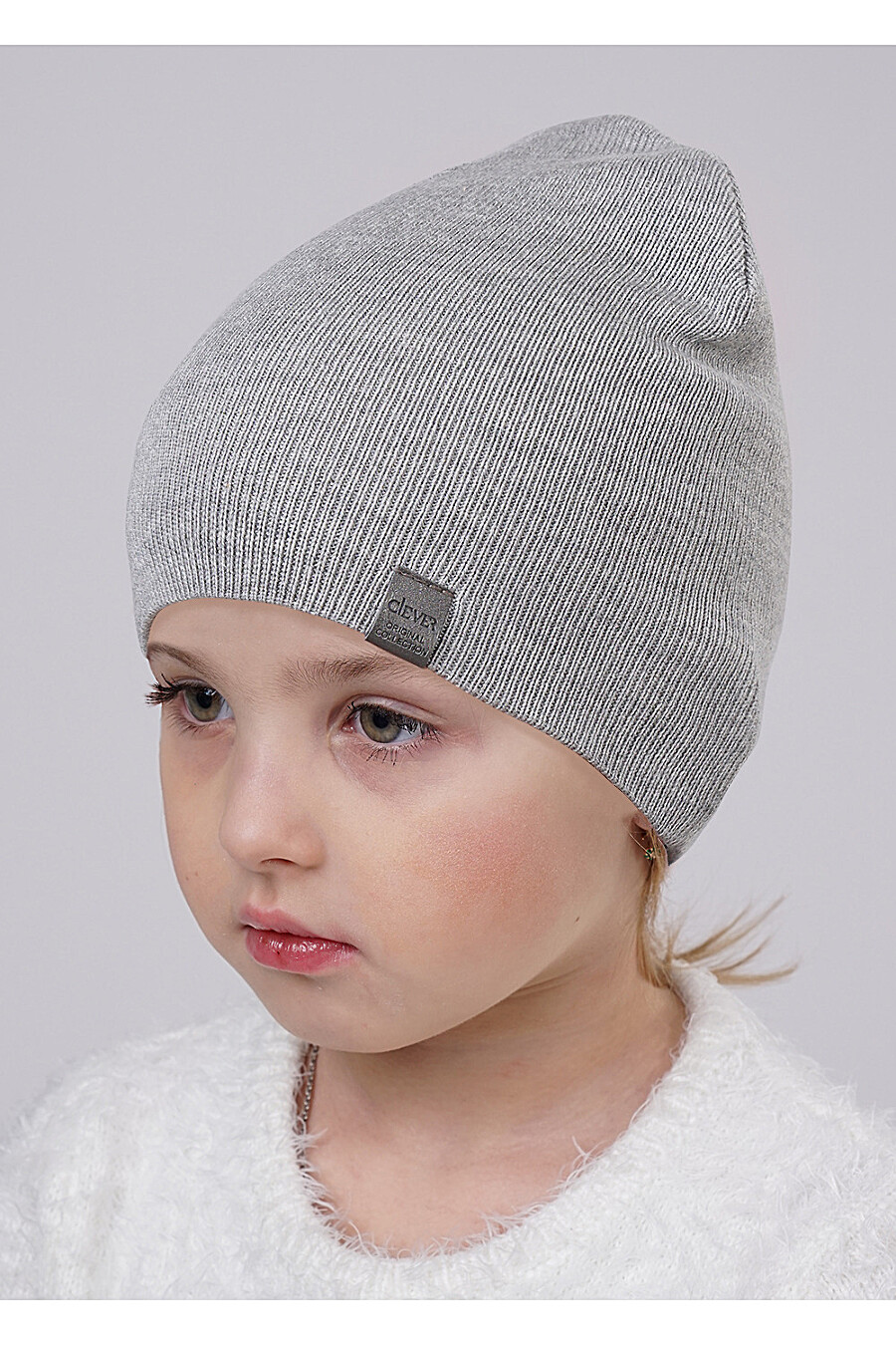 Шапка для девочек CLEVER 175977 купить оптом от производителя. Совместная покупка детской одежды в OptMoyo