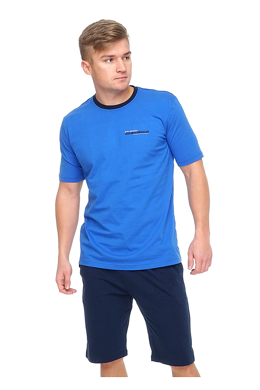 Комплект (шорты+футболка) для мужчин CLEVER 176026 купить оптом от производителя. Совместная покупка мужской одежды в OptMoyo