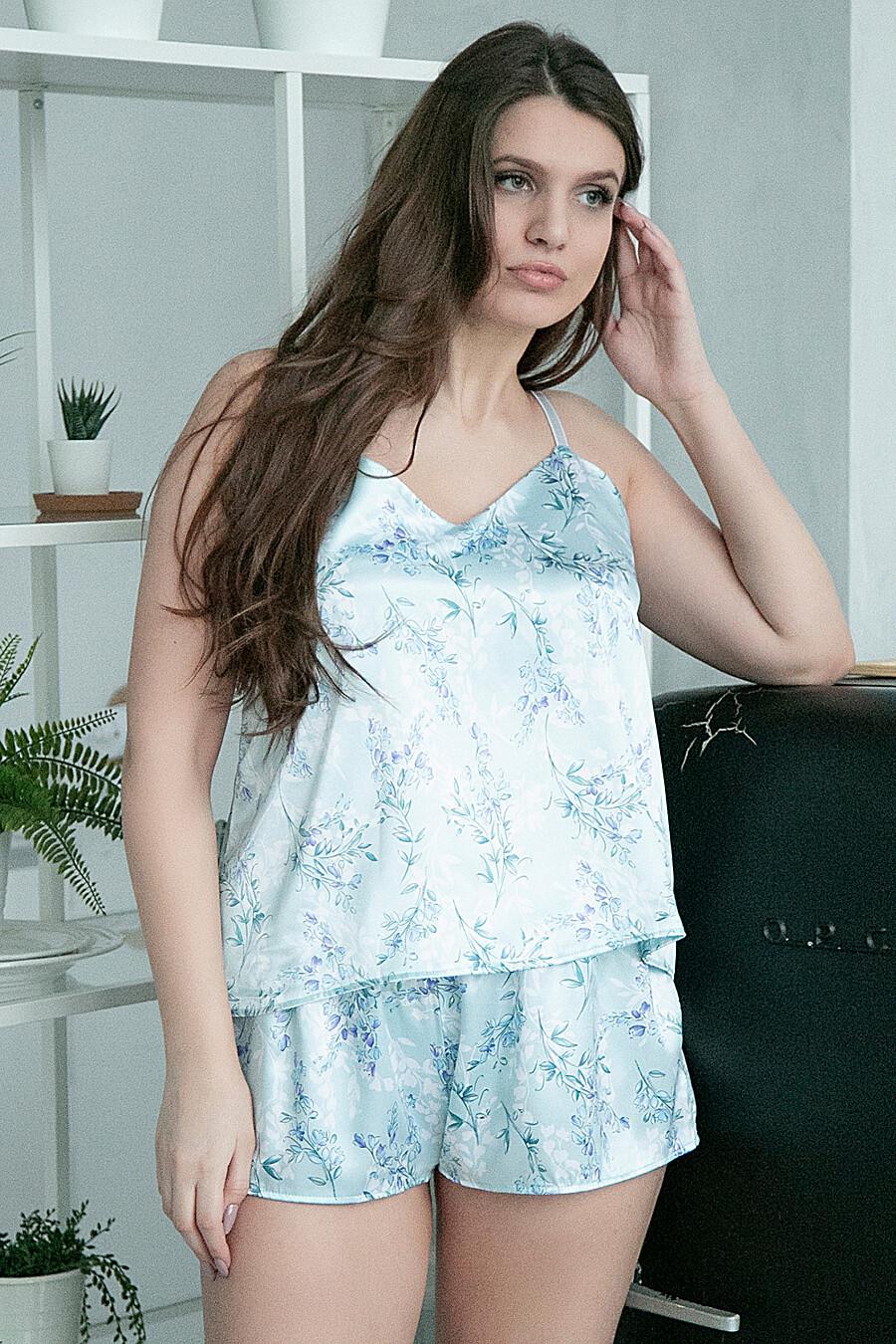 Комплект (Шорты+Топ) для женщин BELLUCHE 176121 купить оптом от производителя. Совместная покупка женской одежды в OptMoyo